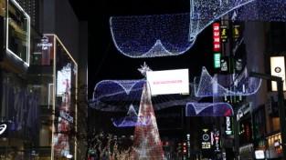 부산크리스마스트리문화축제가 11월 15일 점등, 겨울 축제의 상징 광복로를 밝힌다