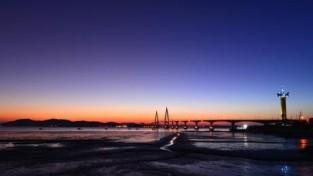 해넘이 명소 칠산대교 '노을이 아름다운 해넘이 명소 영광으로 오세요'