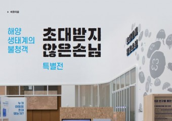 국립해양생물자원관, 특별전 '초대받지 않은 손님' 개최